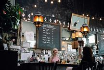 Picnics, balconies, cafes and restaurants