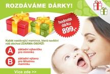 Rozdáváme dárky pro těhulky / Od 1.srpna 2012 jsme připravili pro nastávající maminky lákavou nabídku volby DÁRKŮ. V případě, že přijdou k nám na obchod, prokáží se těhotenskou průkazkou a nakoupí v celkové hodnotě minimálně 1.000Kč vč. DPH. (do celkové ceny se počítá i zboží v akci a slevněné, NEPLATÍ PRO INTERNETOVÉ OBJEDNÁVKY)  A. dárek pro těhulku  B. dárek pro miminko