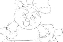 dibujos galletas