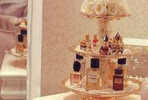 Para guardar perfumes