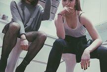 Maisie Williams & Sophie Turner / Maisie X Sophie