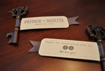 Wedding Favors / Favor ideas to thank guests for coming out and showing support .