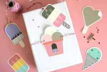Ice Cream Paper Crafts
