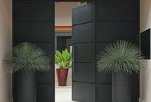 Exterior entrances