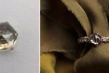 Engagement rings and other jewelry made with our diamonds