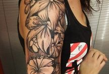 Lelies tatoeage