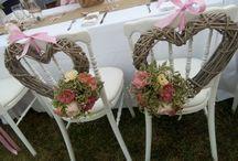 déco chaise des mariés