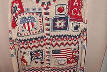 Patriotic Sweaters / by Angie Smits