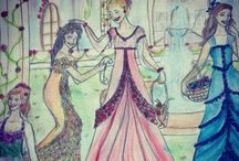 My bff's drawings :D