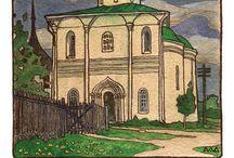 Монастыри, Храмы, Соборы, Церкви