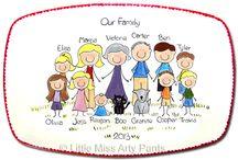 family tányér