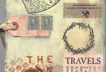 Travel journal book