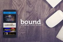 Bound - mobile platform for prose fiction / #app #mobile #iphone #ios #amreading #amwriting