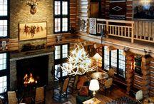 Scottish Hunting Lodge Interiors