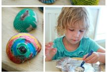 Family inspired craft ideas / Ideas for art for you and your kids. :)
