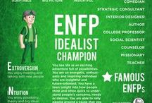 our primary personalities (enfp is me)