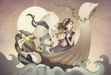 Fantasy / Fantasy, dream-scapes, legends and myths. / by Ryn Tomas