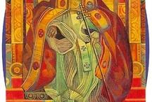 Tarot - 05 - Hierophant / by Magnolias West