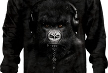 Manimals - T-Shirts / Awesome animal shirts with various kinds of animals dressed as soldiers, dj's, soldier and much more.