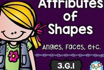 Shapes / Working on shapes with your primary students? This is the board for you! Find great ideas for teaching 2D and 3D shapes. You'll see FREE downloads, great activities, and a few resources to help your preschool, Kindergarten, 1st, 2nd, 3rd, and 4th grade classroom or homeschool students master their shapes in no time.