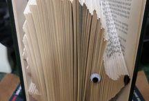 Book folding / Könyvhajtogatás