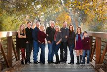 Large family group portrait ideas / Fun ideas for photographing extended families