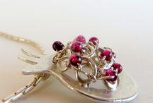 Pomegranate jewelry