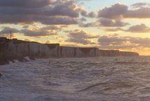 La manche a Ault Onival / ciel et mer