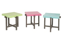 Accent Tables  / Our delicate accent tables come in surprising varieties of shapes and sizes