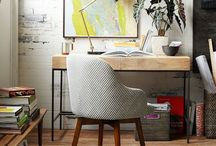 WORK SPACES / HOME OFFICES + BEYOND