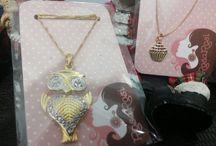 Semi jóias RosaRosi / Lindas peças para adornar e compor o visual