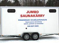 Jumbo saunakärry, Lempäälä