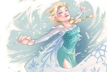 Fnaf and Frozen / Frozen and Fnaf
