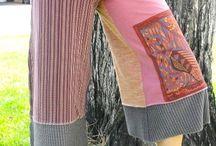 cool patchwork pants.