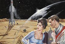 Old School Sci-Fi Illustration