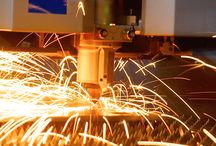 Laser Cutting / A core part of the fabrication process involves our advanced laser cutting machines.
