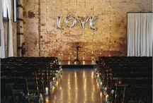 urban  loft wedding