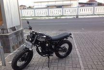 My first custom bike / Simple design by Doglit Motor Custom