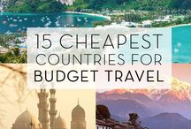 Cheapest countries for travel