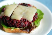 Burger noms / The meatless burger