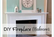 fireplace makeover / by Christall Rotta