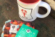 Fika -This gift bundle includes a Mug. Mug Rug, and Tea Packet all
