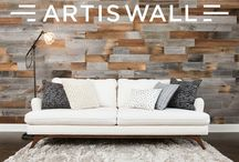 Artis Wall / Now live on Kickstarter, Artis Wall: reclaimed accent walls that are easily installed and removed in minutes.