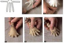 kéz ujjai