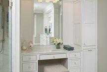 master Bedroom closets & dressing areas