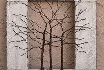 Draad Bomen