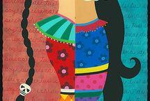 Cores de Frida Kahlo