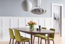Favorite Spaces /  A look at our favorite design-inspired spaces & the furniture +  lighting pieces that coincide with each.