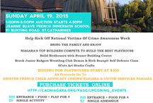 Playhouse Design Inspiration / We will be participating in the Niagara Developers Playhouse Competition & Auction for Victims on April 19th. It is sure to be a great event to support the Kristen French Child Advocacy Centre Niagara. Come out and watch some of Niagara's builders design and build playhouses to be auctioned off!
