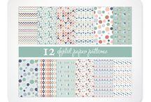 Patterns / by Kelly Jane Creative